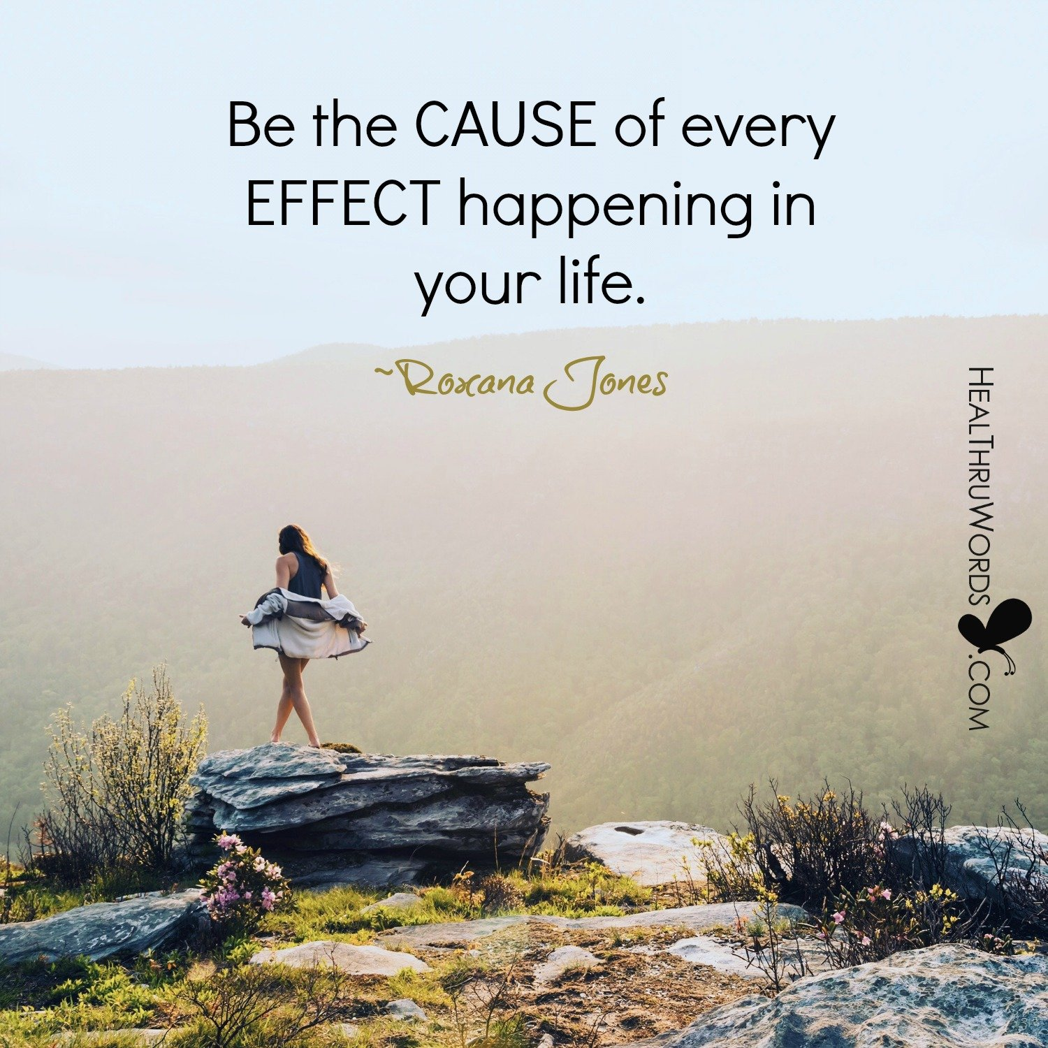 Inspirational Image: Cause And Effect