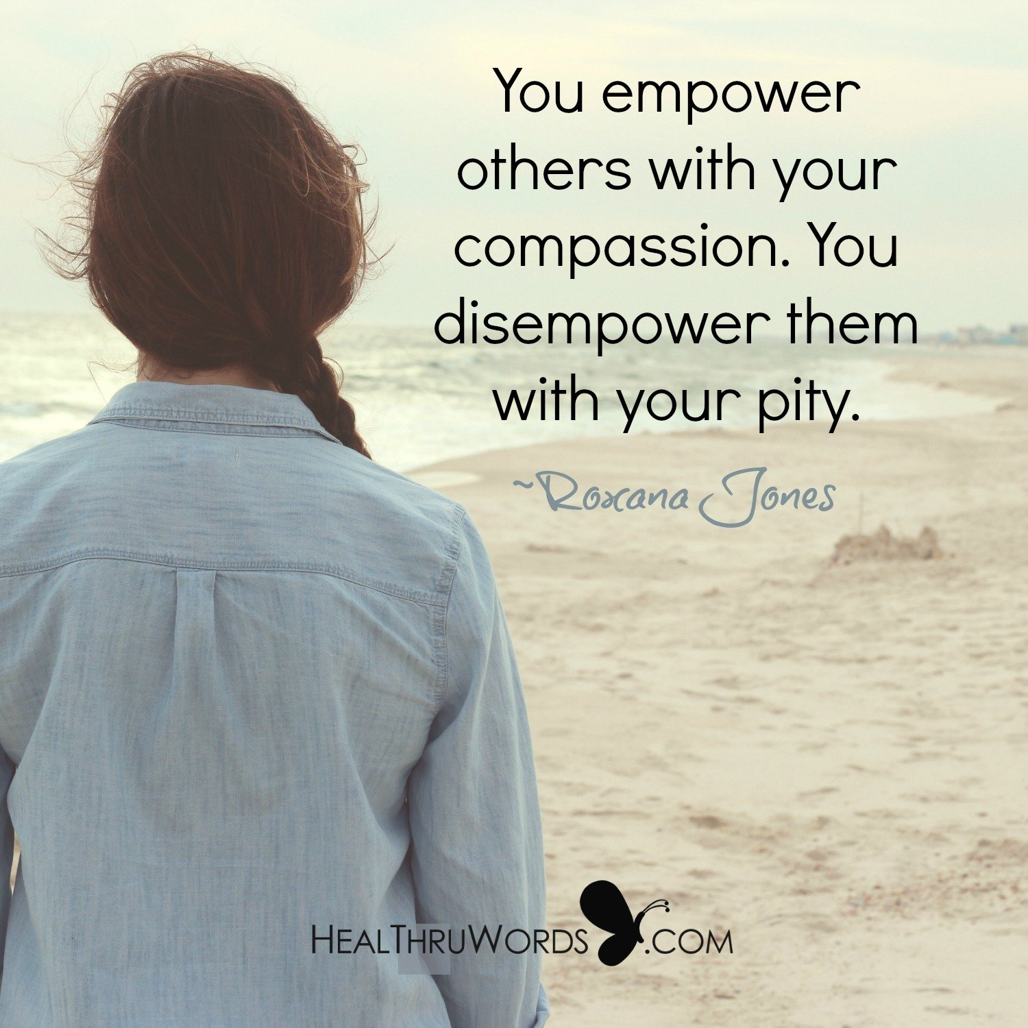 Inspirational Image: Empowering Through Compassion