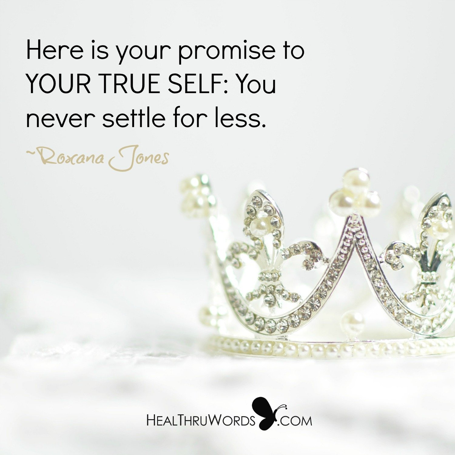 Inspirational Image: Promise to Self