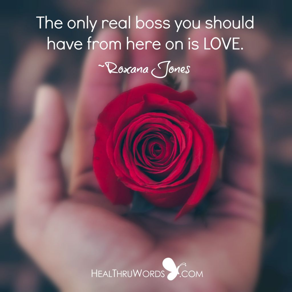 Inspirational Image - The Real Boss
