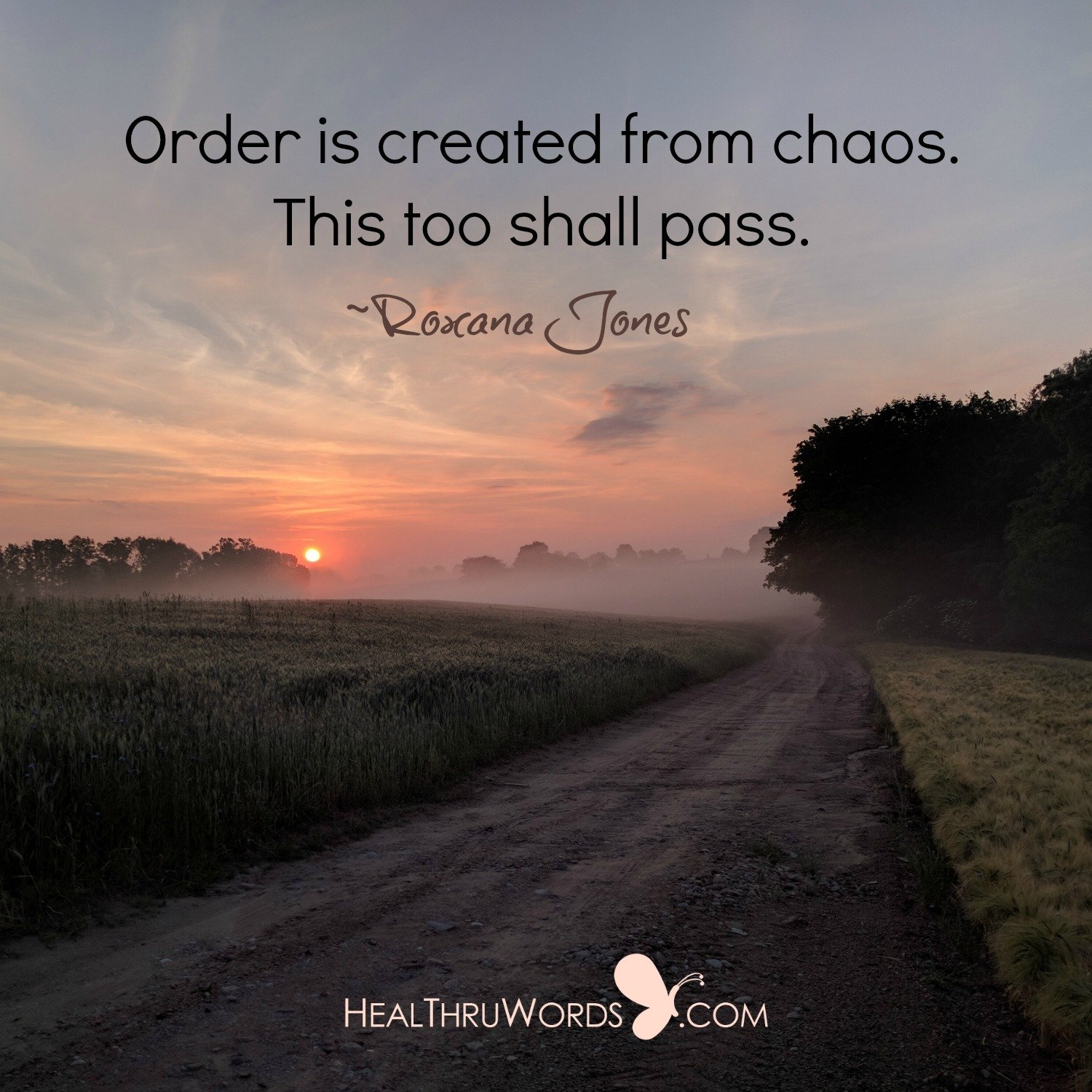 Inspirational Image: This Too Shall Pass