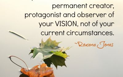 Vision Instead Of Circumstances