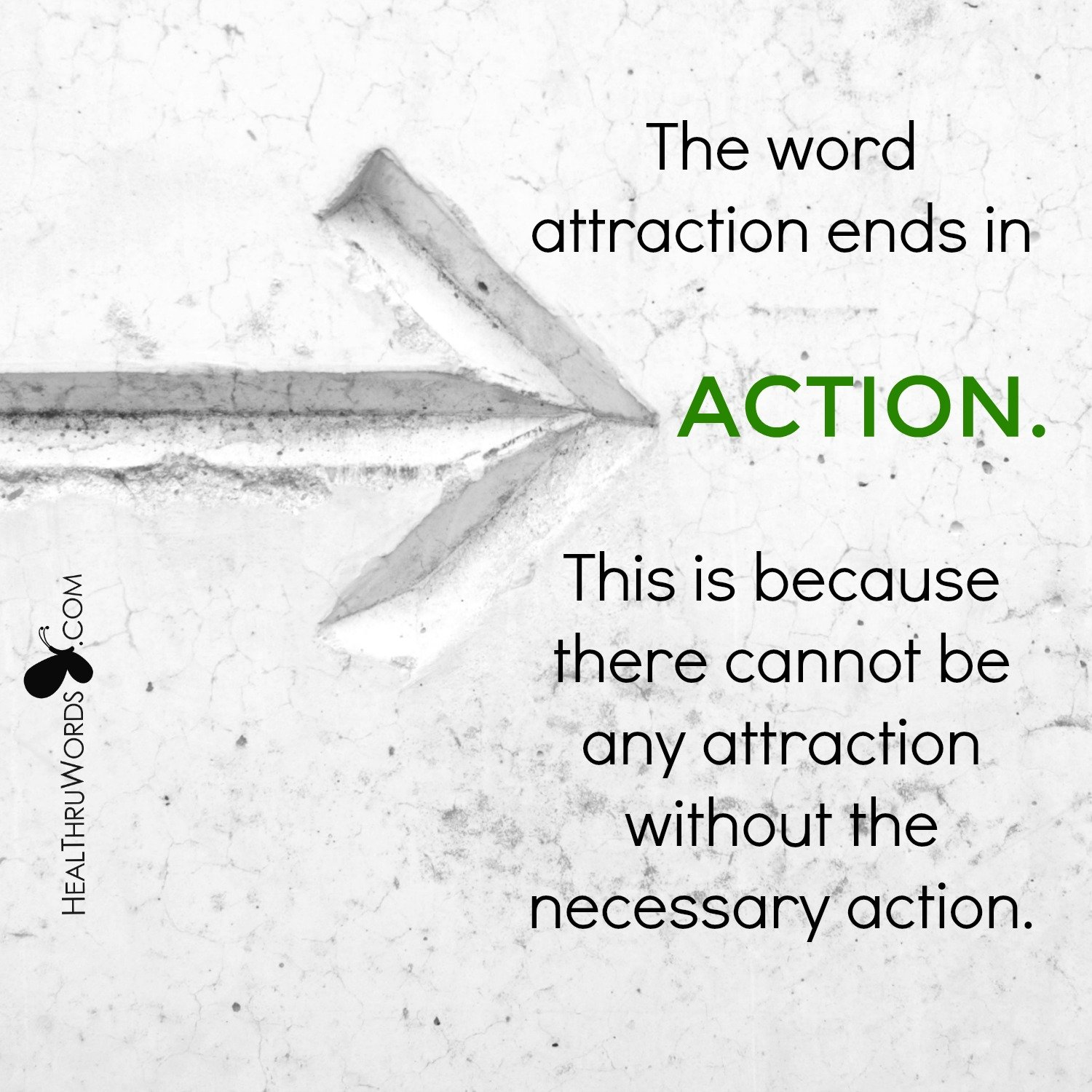 Inspirational Image: Action in Attraction