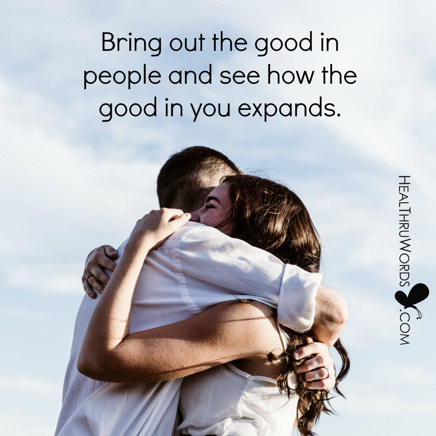 Inspirational Image: Goodness In Everyone
