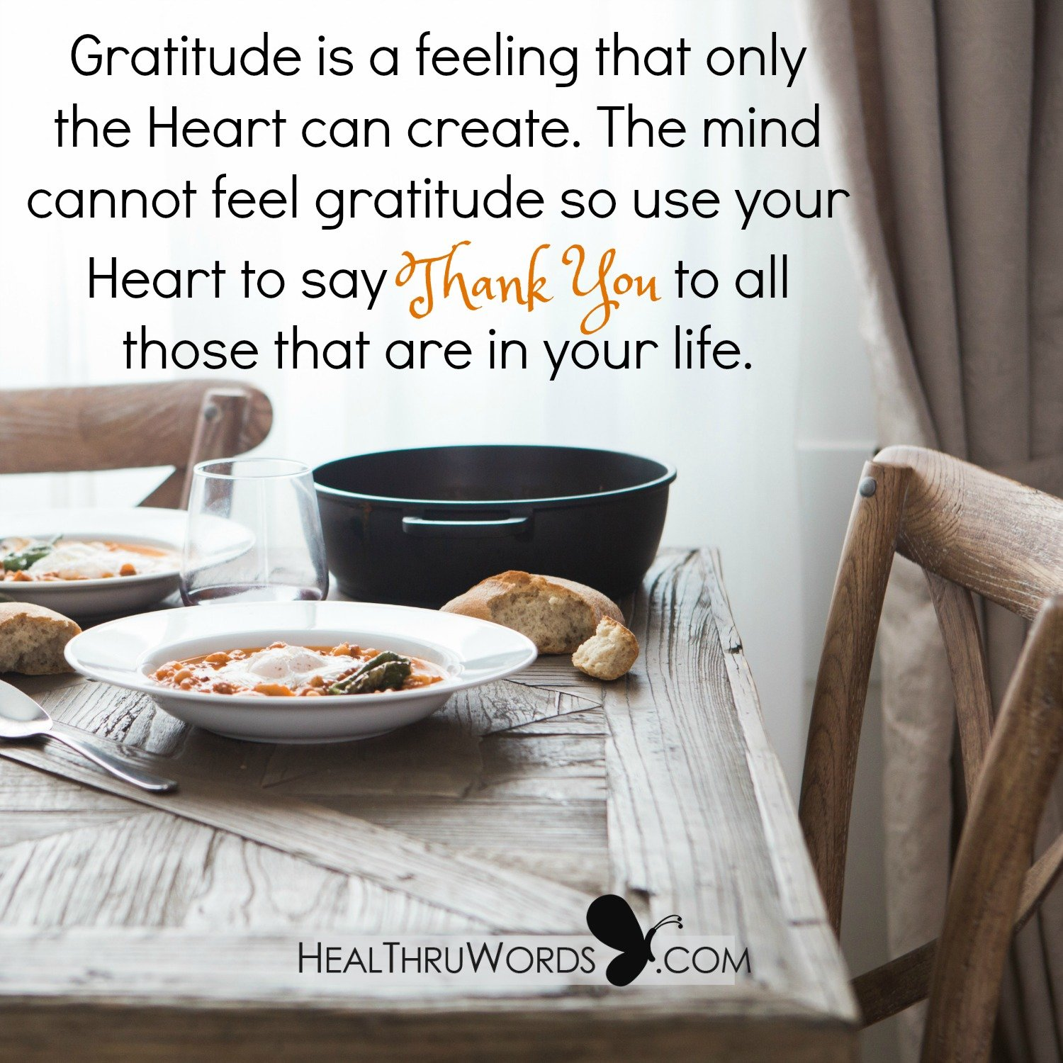 Inspirational Image: The Feeling of Gratitude