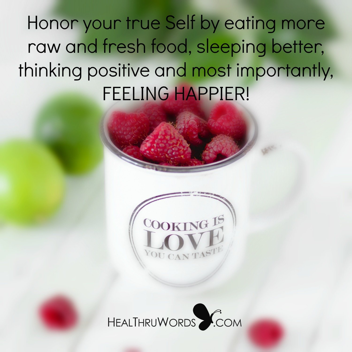 Inspirational Image: Honoring Your Self