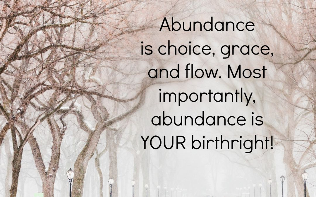 The True Meaning Of Abundance