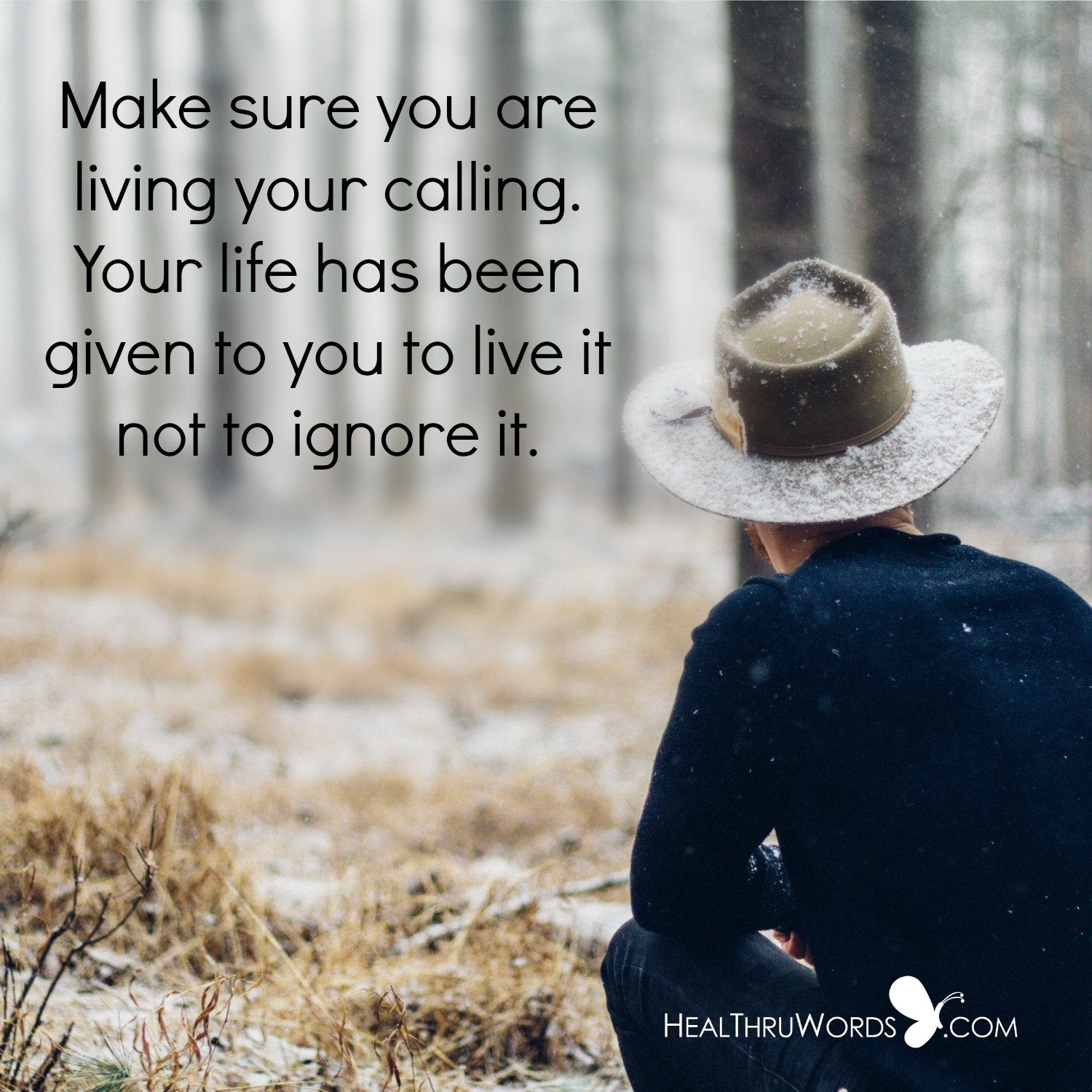 Inspirational Image: What Is Your Call