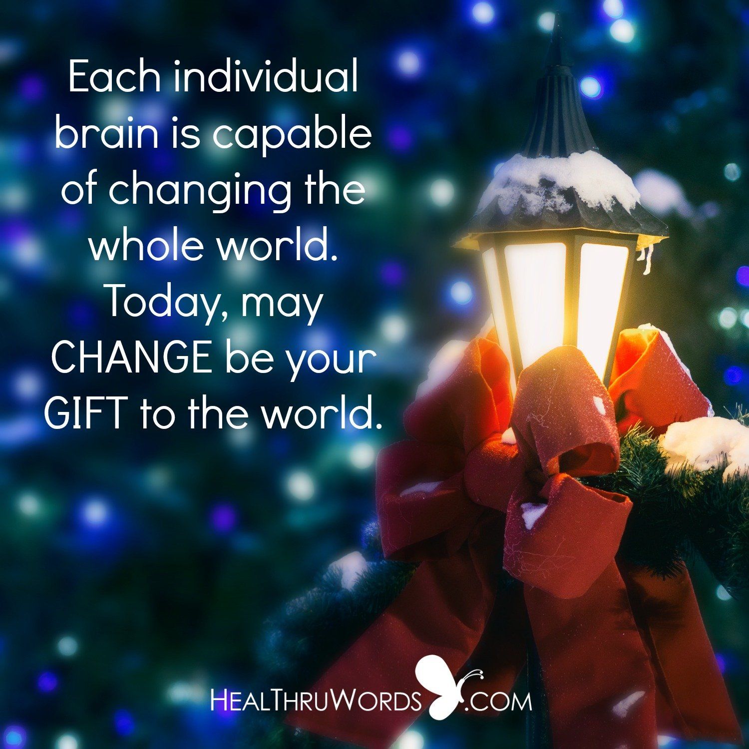 Inspirational Image: Your Gift To The World