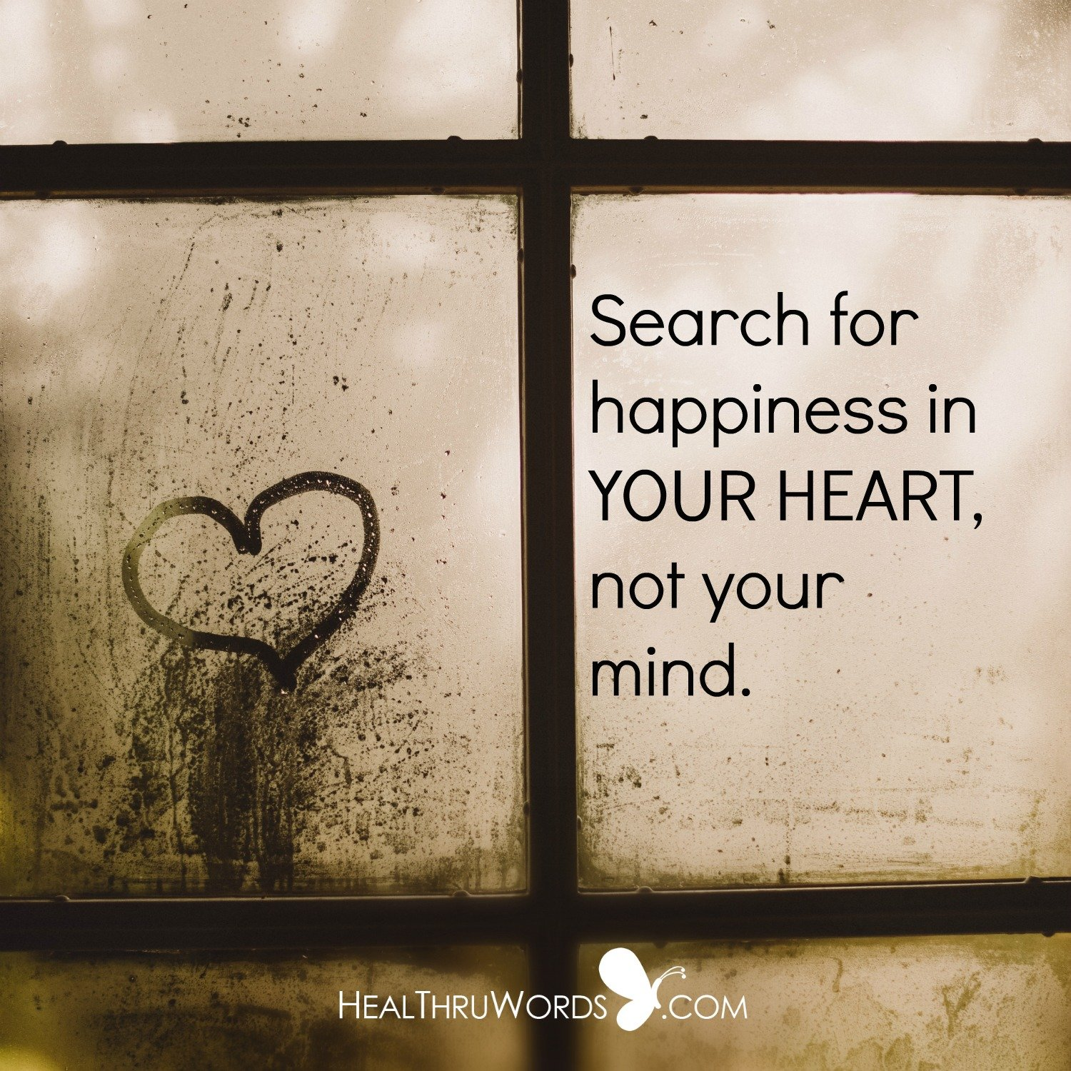 Inspirational Image: Heartful Search