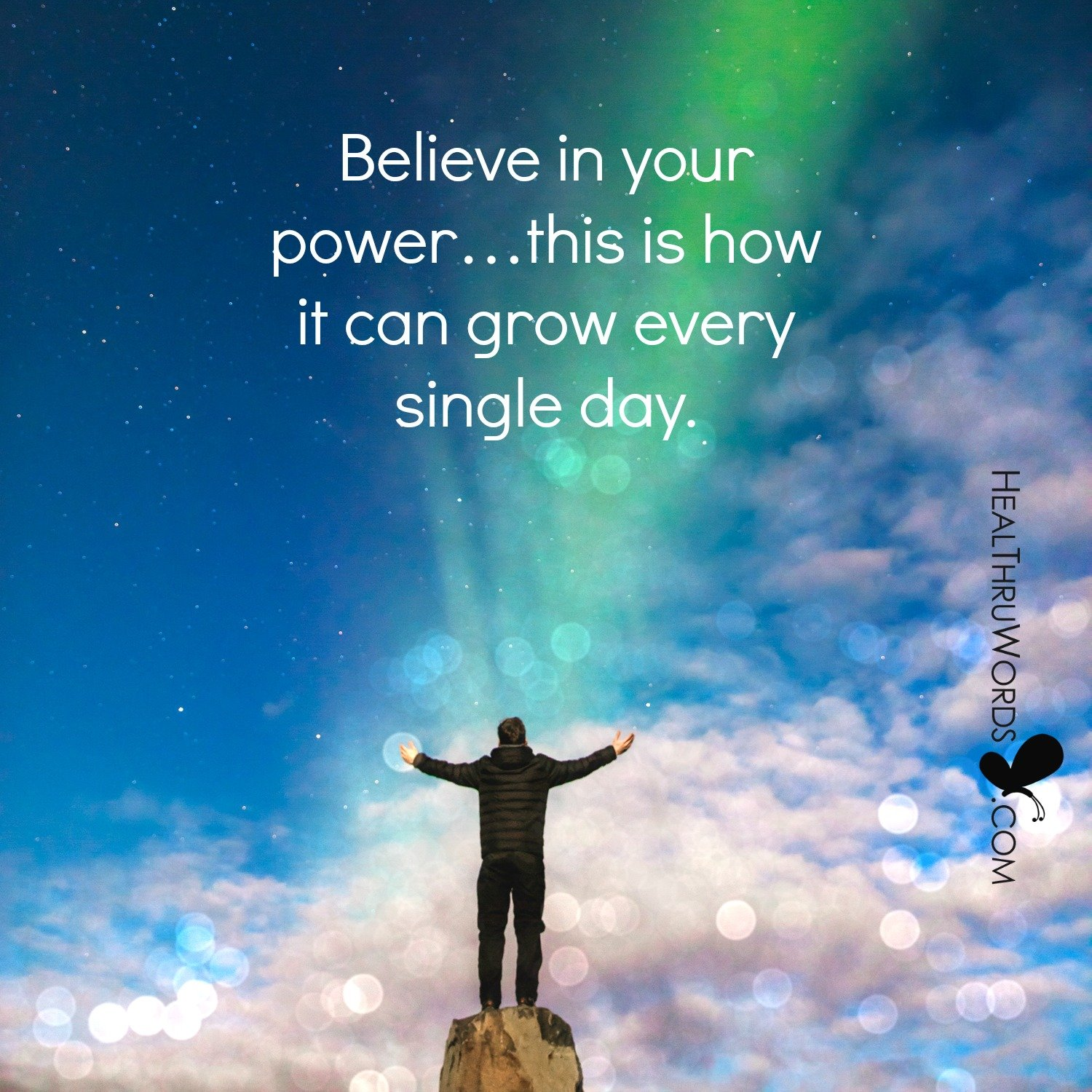 Inspirational Image: May The Power Be With You