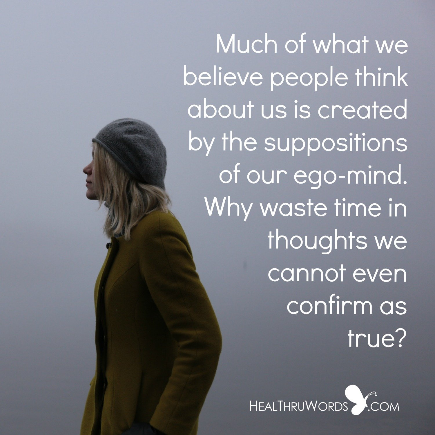 Inspirational Image: Egotistic Suppositions