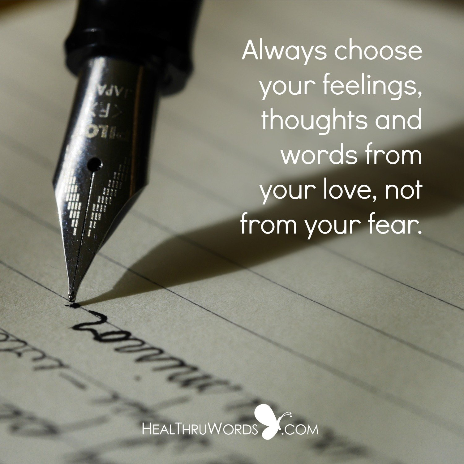 Inspirational Image: Choosing From Love