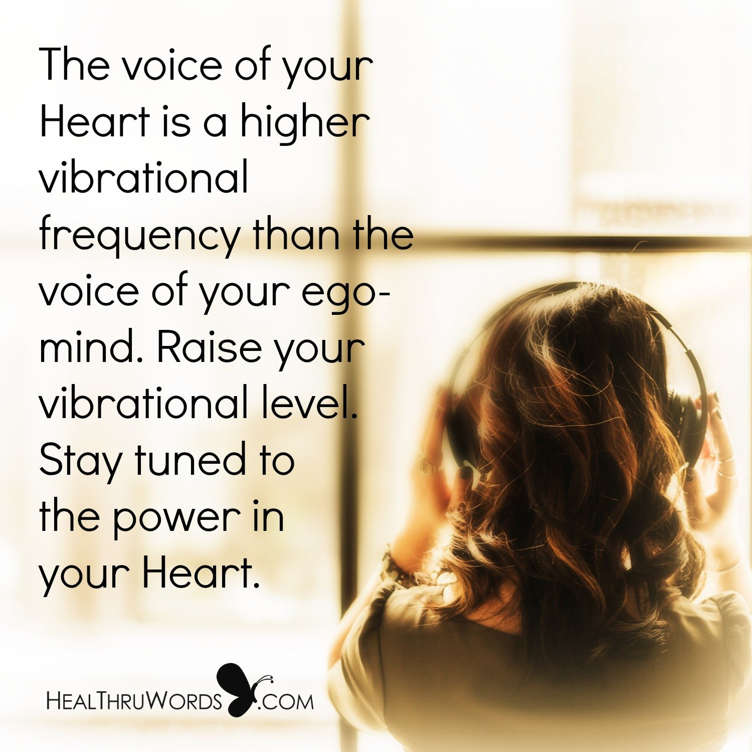 Inspirational Image: Your Vibrational Frequency