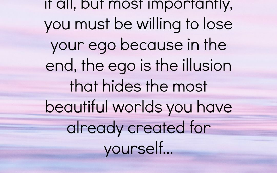 Fear to Lose The Ego