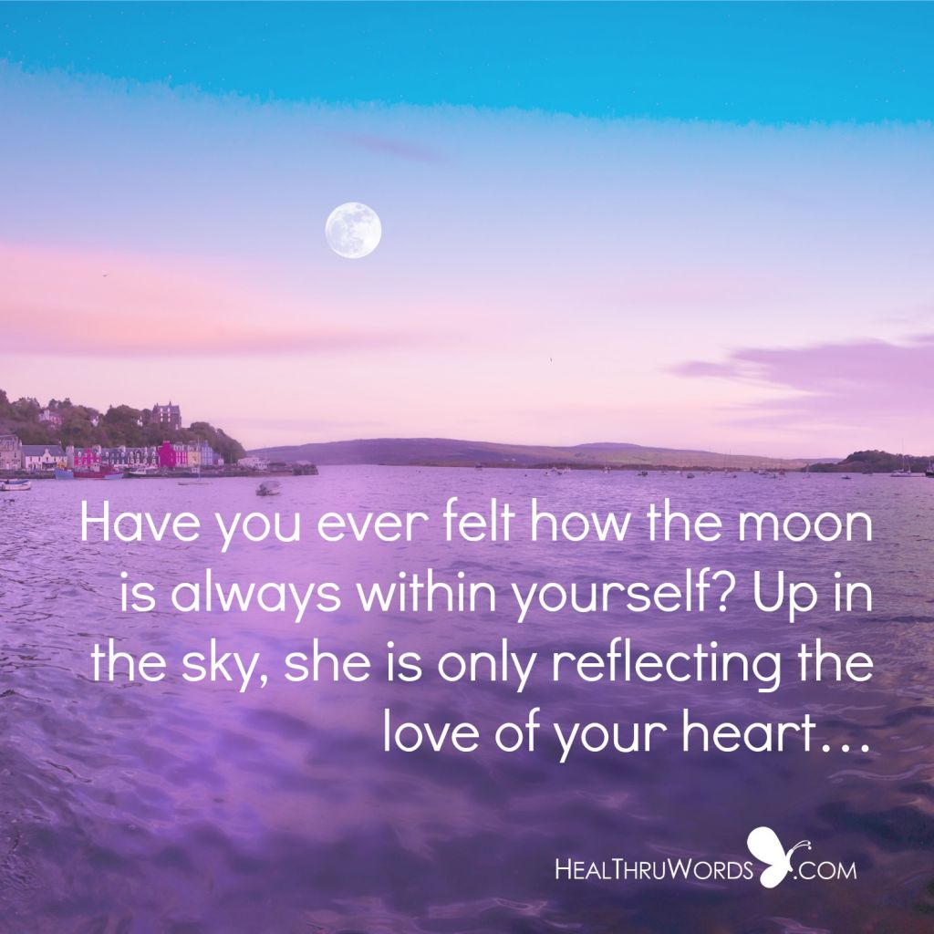 Motivational Quote - Inner Moon