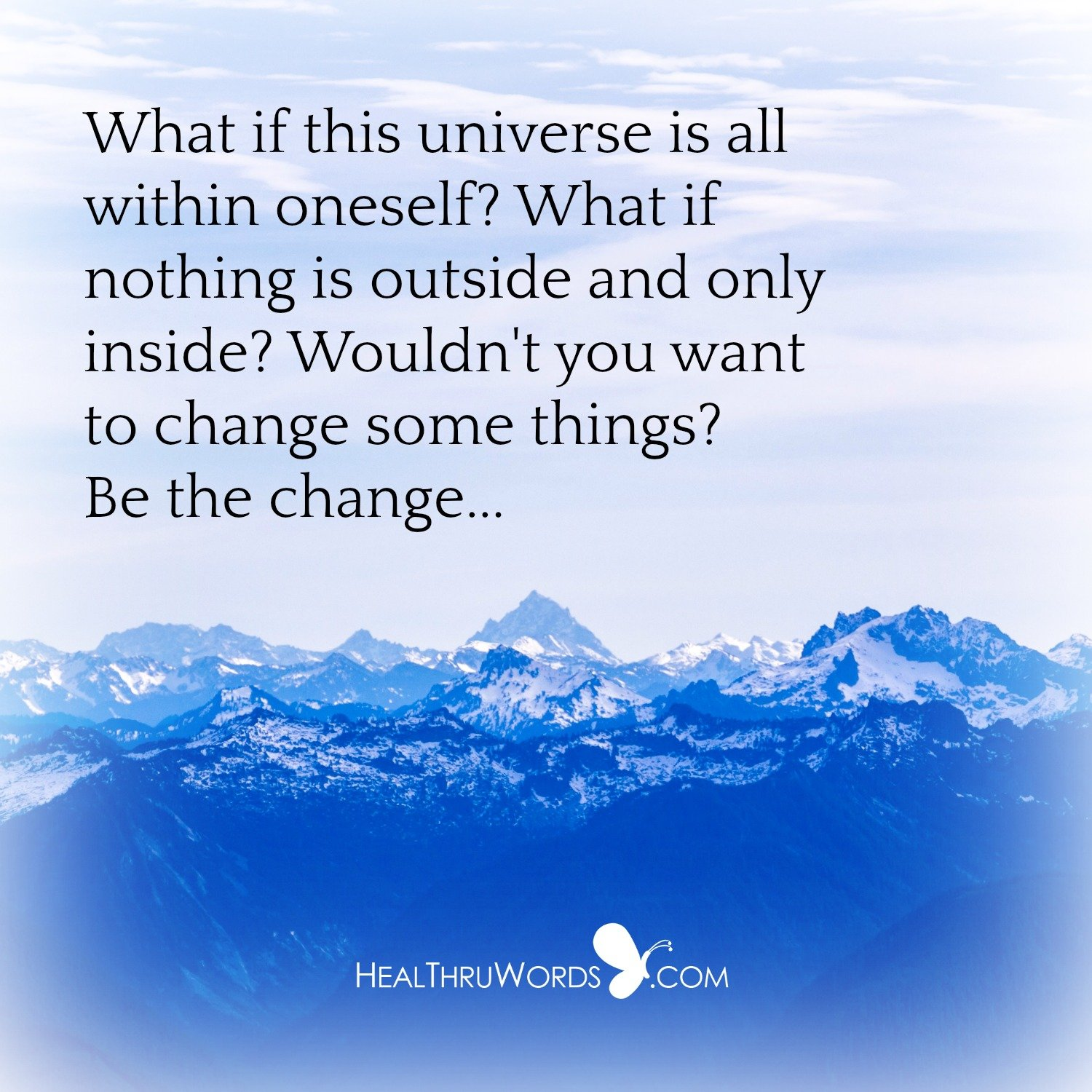 Inspirational Image: What Is Within?
