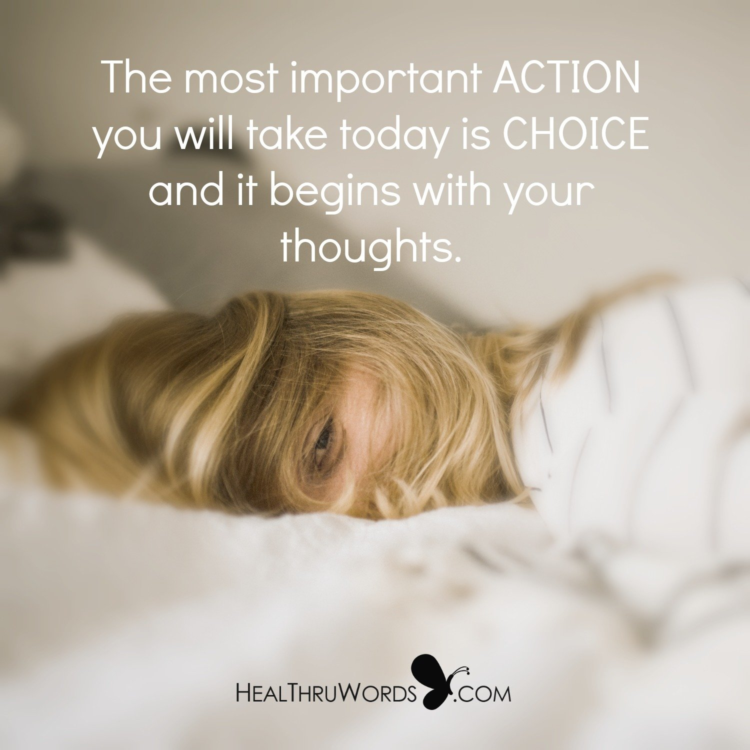 Inspirational Image: Thoughtful Action