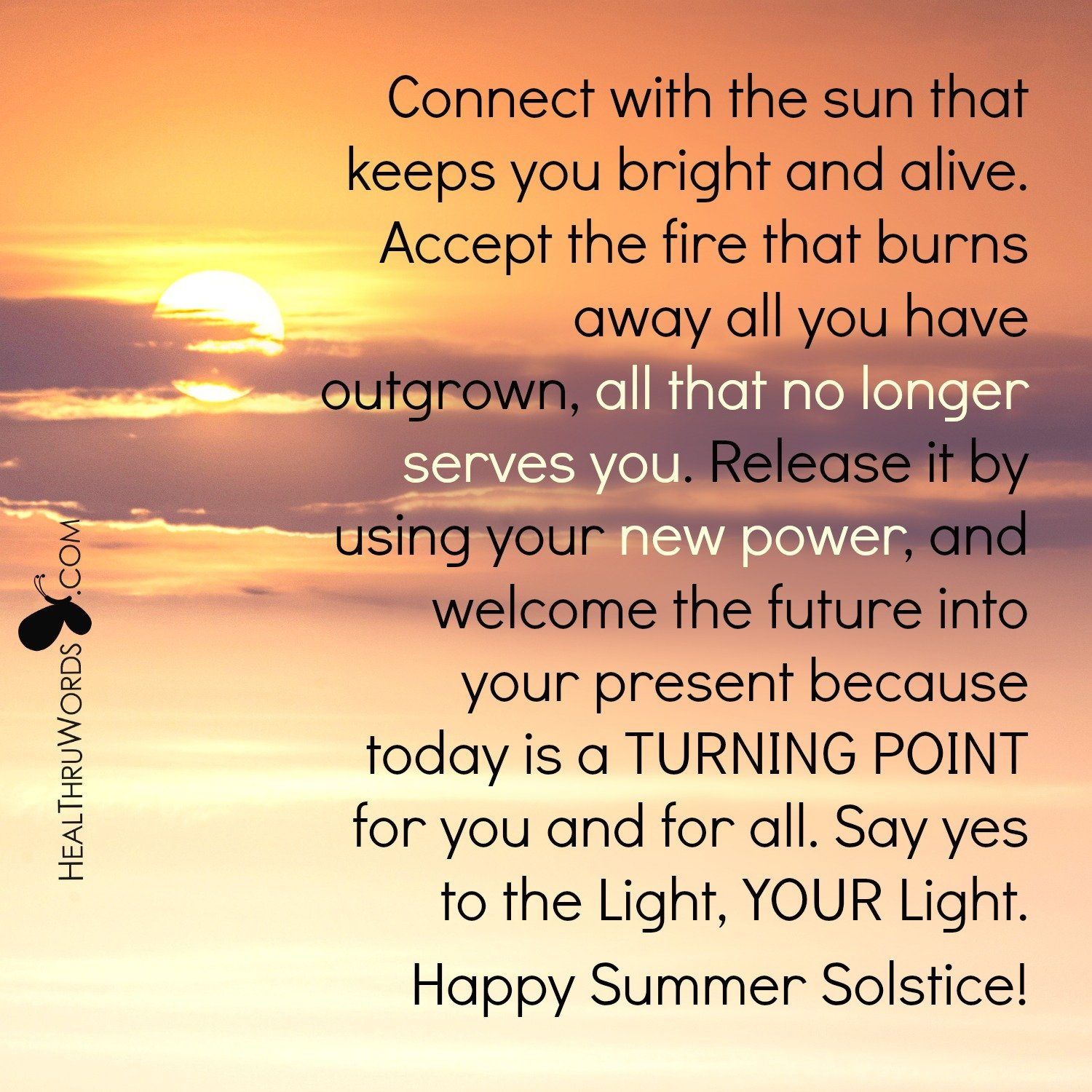 Inspirational Image: During Summer Solstice