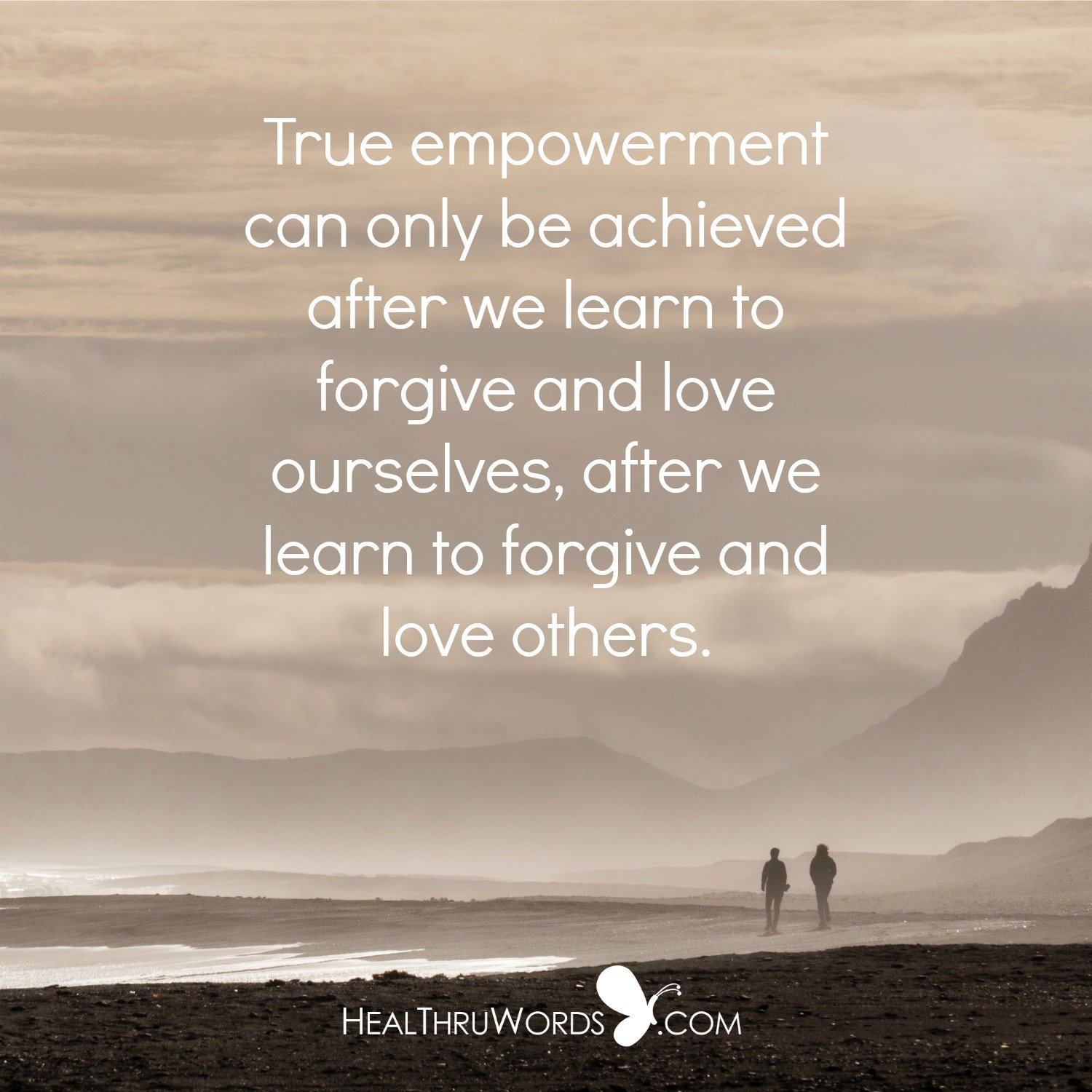 Inspirational Image: Forgiveness is Power