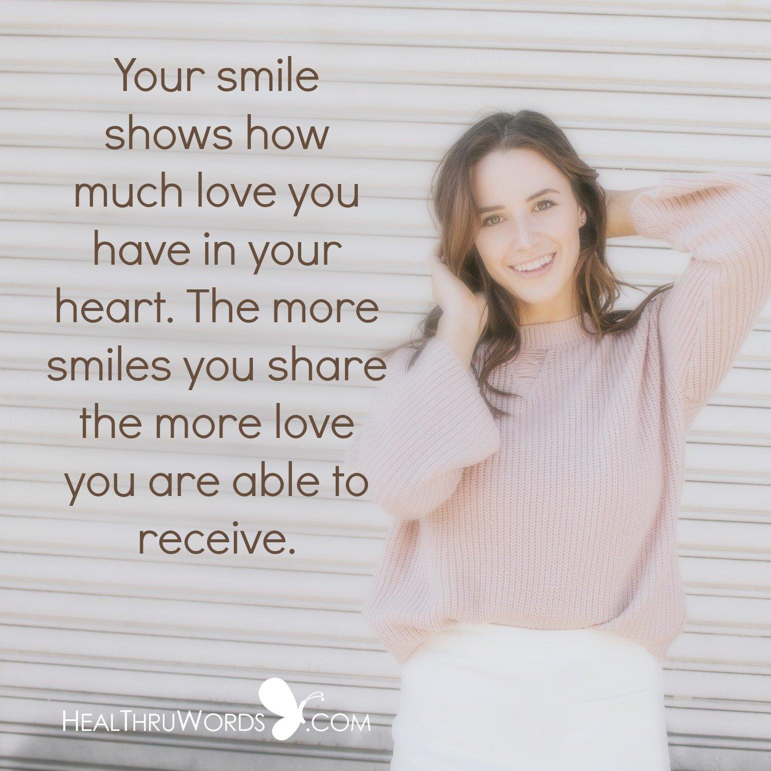 Inspirational Image: How Much Do You Smile?