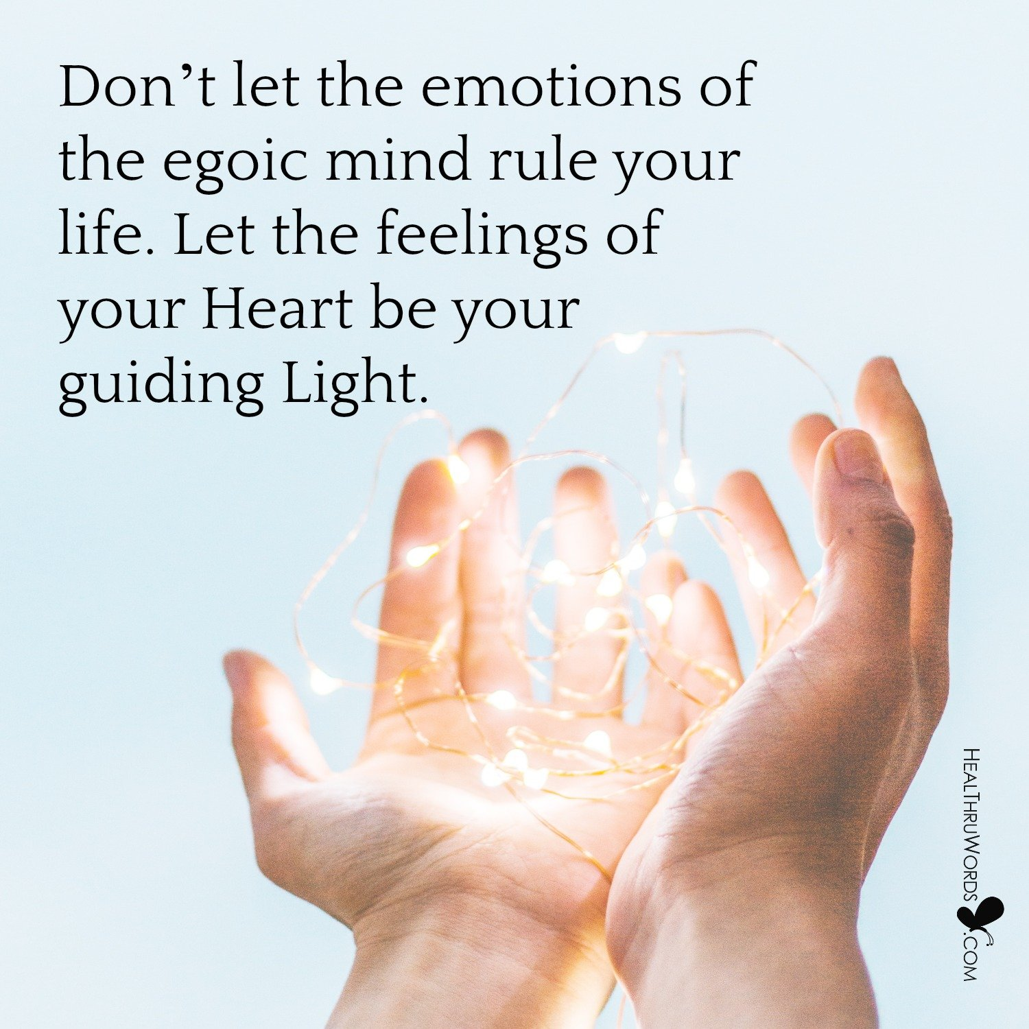 Inspirational Image: Feelings vs Emotions
